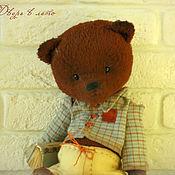 Куклы и игрушки ручной работы. Ярмарка Мастеров - ручная работа Мишка тедди Бруно Коллекционный медведь тедди. Handmade.