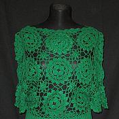 Одежда handmade. Livemaster - original item The green jacket
