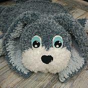 Для дома и интерьера handmade. Livemaster - original item Baby rug Bunny Bonnie. Handmade.