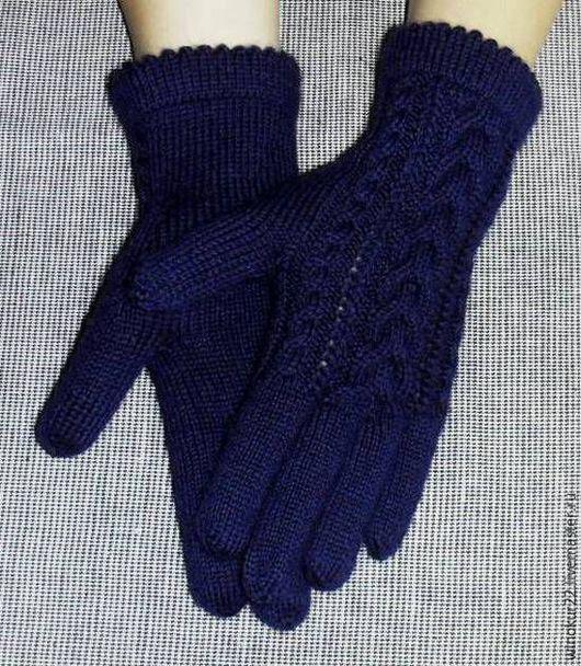 """Варежки, митенки, перчатки ручной работы. Ярмарка Мастеров - ручная работа. Купить Перчатки """"Вега"""" (шерсть). Handmade. Однотонный"""