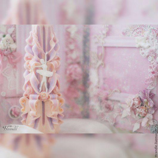 Сувениры ручной работы. Ярмарка Мастеров - ручная работа. Купить Балерина. Handmade. Розовый, подарок девочке, шебби-шик, воздух