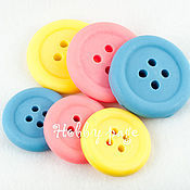 Материалы для творчества handmade. Livemaster - original item Silicone molds for soap Two buttons. Handmade.