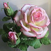 Для дома и интерьера handmade. Livemaster - original item Night light Realistic rose Gift Tea rose Lighting. Handmade.
