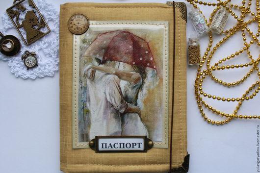 Персональные подарки ручной работы. Ярмарка Мастеров - ручная работа. Купить Обложка на паспорт. Handmade. Обложка на паспорт, Паспорт