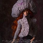 Шарнирная кукла ручной работы. Ярмарка Мастеров - ручная работа Орландо. Фарфоровая шарнирная кукла.Резерв. Handmade.