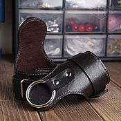 Субкультуры handmade. Livemaster - original item BDSM handcuffs SOFTY with ring. Handmade.