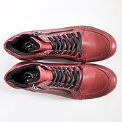 Обувь ручной работы. Ярмарка Мастеров - ручная работа Мягкие ботинки на шнуровке. Handmade.