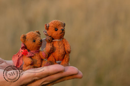 Teddys made by Svetlana Shelkovnikova Мини мишки тедди Мишка тедди ручная работа.