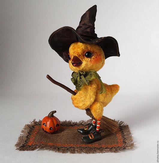 Куклы и игрушки ручной работы. Ярмарка Мастеров - ручная работа. Купить Цыпленок Агата, самая маленькая ведьмочка, Хэллоуинн. Handmade.