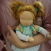 Вальдорфские куклы и звери ручной работы. Ярмарка Мастеров - ручная работа Овсяночка кукла вальдорфская. Handmade.