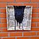 """Животные ручной работы. Ярмарка Мастеров - ручная работа. Купить картина """"Мопс"""". Handmade. Голова, ручная авторская работа, на стену"""
