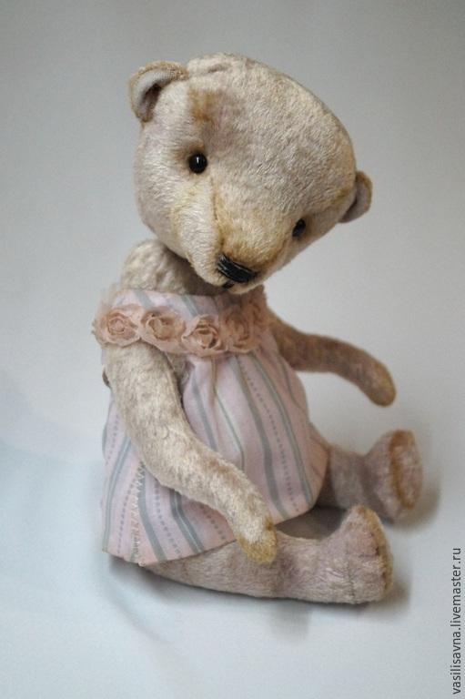 Мишки Тедди ручной работы. Ярмарка Мастеров - ручная работа. Купить Софи. Handmade. Бледно-розовый, мишка тедди