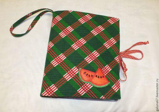Кухня ручной работы. Ярмарка Мастеров - ручная работа. Купить Книжка текстильная для рецептов, специй.... Handmade. Разноцветный, резинка