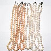 Работы для детей, handmade. Livemaster - original item A necklace of natural pearls. Handmade.