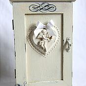 Для дома и интерьера handmade. Livemaster - original item Key box ANGEL. Handmade.
