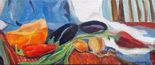 Картина. Овощное работа Ольги Петровской-Петовраджи