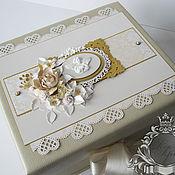 Подарки к праздникам ручной работы. Ярмарка Мастеров - ручная работа Коробка памяти (memory box), коробка воспоминаний.... Handmade.