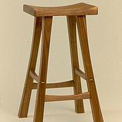 Для дома и интерьера ручной работы. Ярмарка Мастеров - ручная работа Барный стул из массива. Handmade.