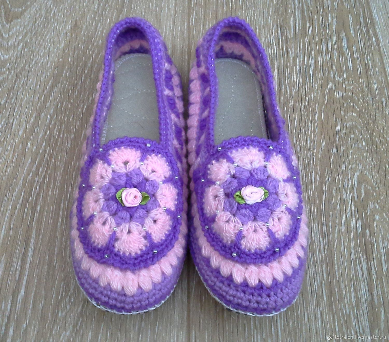 3acb865f732d41 Handmade Shoes handmade. Livemaster - handmade. Buy Knitted Slippers  Thumbelina.