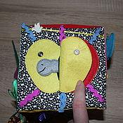 Куклы и игрушки ручной работы. Ярмарка Мастеров - ручная работа Развивающий кубик для малышей от 9 месяцев до 2 лет. Handmade.