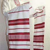 Русский стиль handmade. Livemaster - original item Large ceremonial decorative towel (2.5 meters). Handmade.
