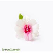 """Украшения ручной работы. Ярмарка Мастеров - ручная работа Зажим для волос """"Орхидея дендробиум"""" - 1. Handmade."""