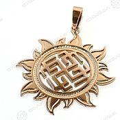 Русский стиль handmade. Livemaster - original item SVAROZHICH IN THE SUN. Handmade.