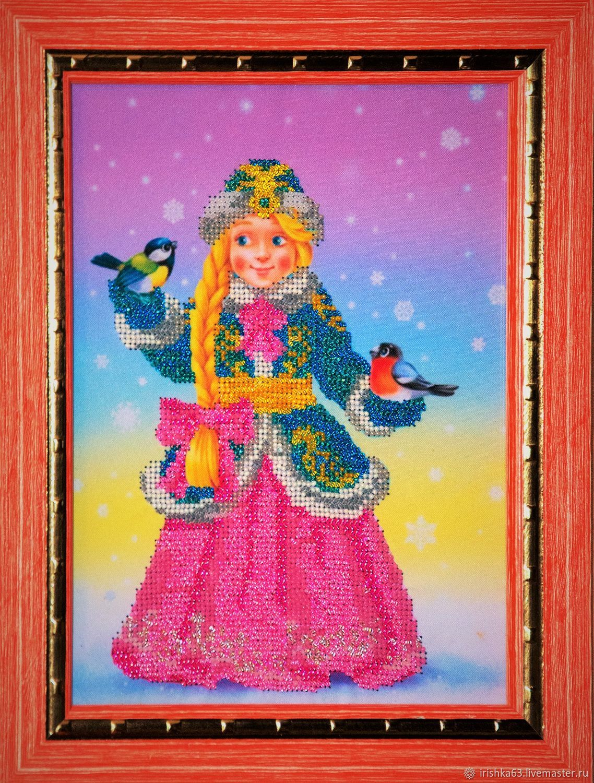 Snow maiden, beading, Pictures, Kazan,  Фото №1