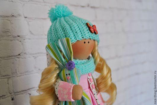 Коллекционные куклы ручной работы. Ярмарка Мастеров - ручная работа. Купить Девочка Варя. Handmade. Комбинированный, кукла текстильная, трикотаж
