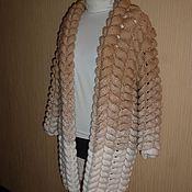 Одежда ручной работы. Ярмарка Мастеров - ручная работа Кардиган из ангоры. Handmade.