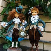 Куклы и пупсы ручной работы. Ярмарка Мастеров - ручная работа Наполеон и Жозефина. Handmade.