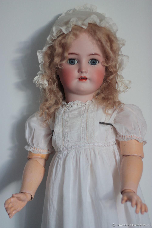Винтаж: Продана Антикварная кукла Simon Halbig & Henrick Handwerck, Куклы винтажные, Одинцово,  Фото №1