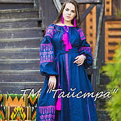 Одежда handmade. Livemaster - original item Еmbroidered dress boho, embroidered style, Bohemian, ethnic. Handmade.