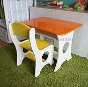 Для дома и интерьера ручной работы. Ярмарка Мастеров - ручная работа Набор детской мебели (цветовая гамма на выбор). Handmade.