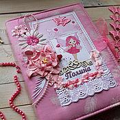 Подарки к праздникам ручной работы. Ярмарка Мастеров - ручная работа БебиБук для девочки. Handmade.
