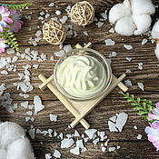 Косметика ручной работы handmade. Livemaster - original item Natural cream for face and body Spermaceti. Handmade.
