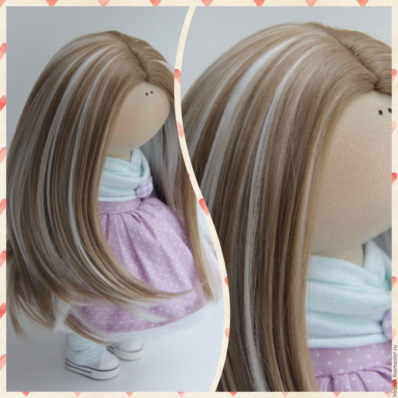 Сшить тресс для куклы