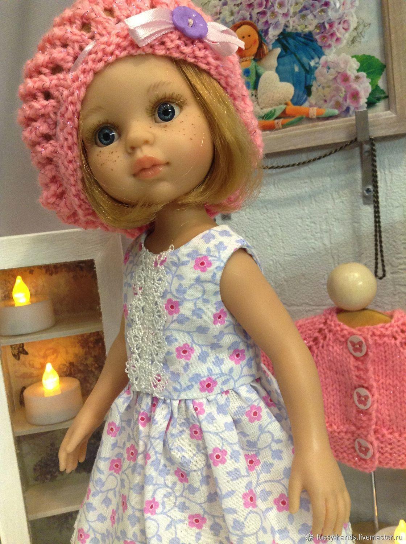 Summer dress in pink flower, Clothes for dolls, Ekaterinburg,  Фото №1