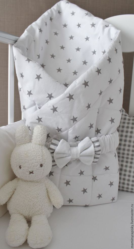 Для новорожденных, ручной работы. Ярмарка Мастеров - ручная работа. Купить Одеяло-конвeрт для новорождeнного. Handmade. Конверт, на выписку из роддома