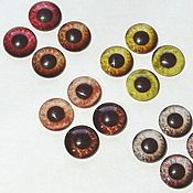 Материалы для творчества handmade. Livemaster - original item Glass eyes for toys Art. GS01. Handmade.