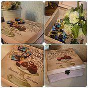 Для дома и интерьера ручной работы. Ярмарка Мастеров - ручная работа Шкатулка для конфет. Handmade.