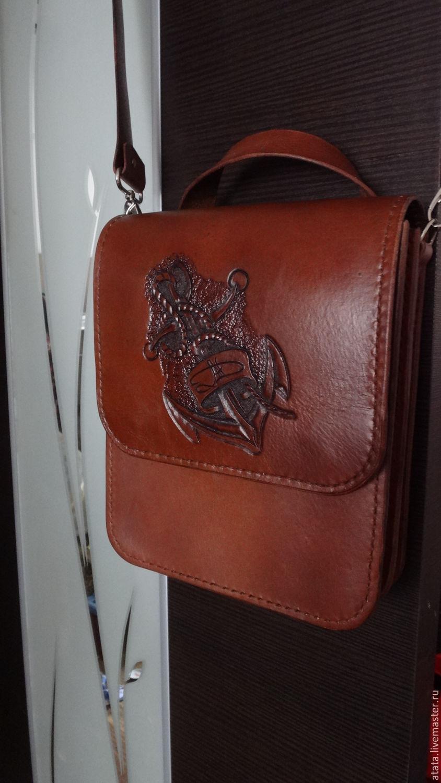 6f953db6250c Мужские сумки ручной работы. Ярмарка Мастеров - ручная работа. Купить  Мужская сумка - планшет ...