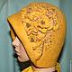 Шляпы ручной работы. Ярмарка Мастеров - ручная работа. Купить Жёлто-горчичная. Handmade. Желтый, шляпка женская