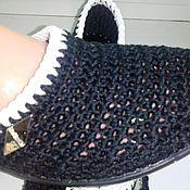 Обувь ручной работы. Ярмарка Мастеров - ручная работа Балетки Классика.....Черное Белое. Handmade.