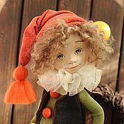 Куклы и игрушки ручной работы. Ярмарка Мастеров - ручная работа Текстильная авторская кукла. Гном Вирдис. Handmade.