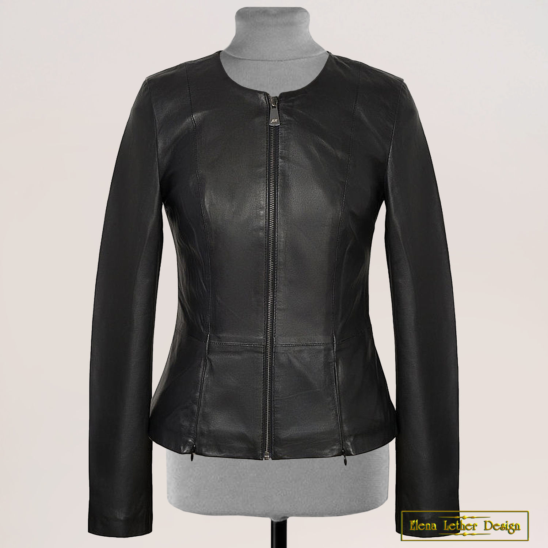 24ec8a519 Jacket-a jacket of genuine leather – shop online on Livemaster with  shipping - H066ZCOM | Shcherbinka