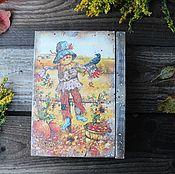 """Для дома и интерьера ручной работы. Ярмарка Мастеров - ручная работа """"По дороге из желтого кирпича...""""книга-шкатулка. Handmade."""