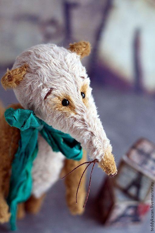 Мишки Тедди ручной работы. Ярмарка Мастеров - ручная работа. Купить Тедди Крыс Шурик. Handmade. Бежевый, друг