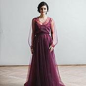 Свадебный салон handmade. Livemaster - original item Dress long sleeve Grazia. Handmade.