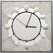"""Для дома и интерьера ручной работы. Ярмарка Мастеров - ручная работа """"МЕРЦАНИЕ"""" из песка авторские часы. Handmade."""